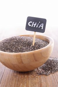 chia seed in bowl